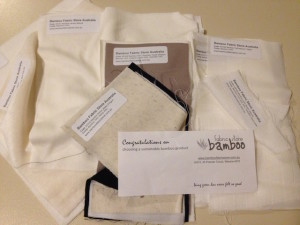 Fabric Samples from Bamboo Fabric Store