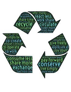recycle - sustainable regenerated fibres
