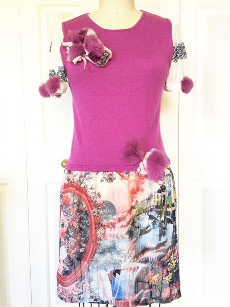 Refashioning clothes: embellishment variations