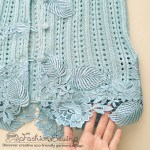 Cardigan Refashion: How to Add Lace Trim [Design Details]