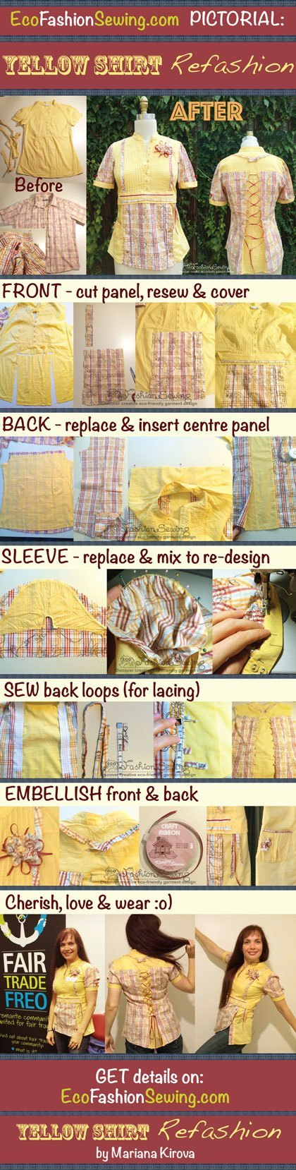 Yellow-shirt-refashion---PICTORIAL